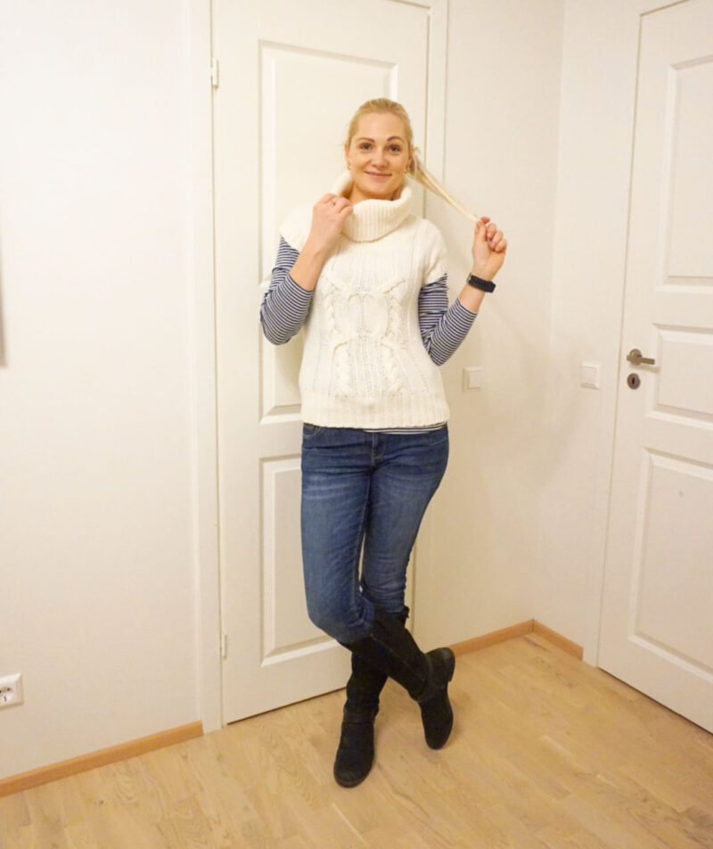 simple casual winter outfit