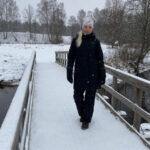 comfy winter outfit Didriksons Eline parka