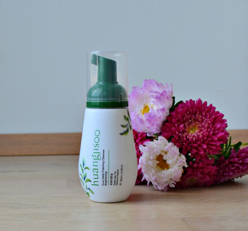 Huangjisoo Pure Daily Foaming Cleanser - Brightening