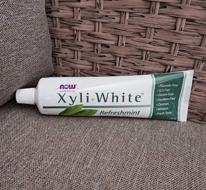 Now Foods Solutions XyliWhite Toothpaste Gel Refreshmint