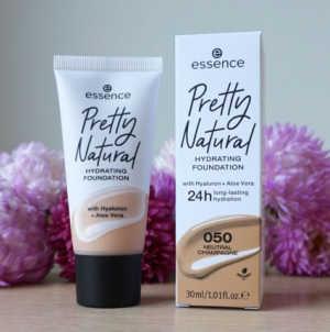 essence cosmetics pretty natural hydrating foundation