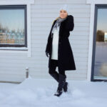 Black and white winter outfit & weekly link-up #208