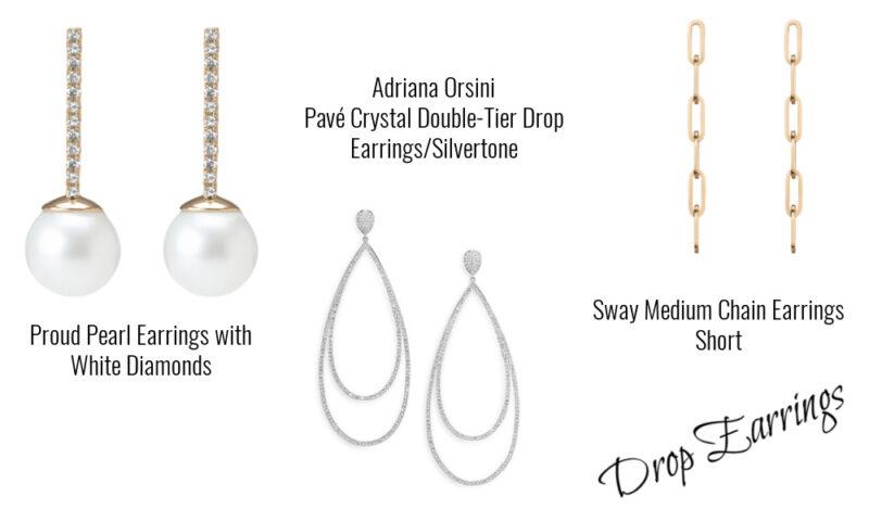 Valentine's day gifts ideas drop earrings