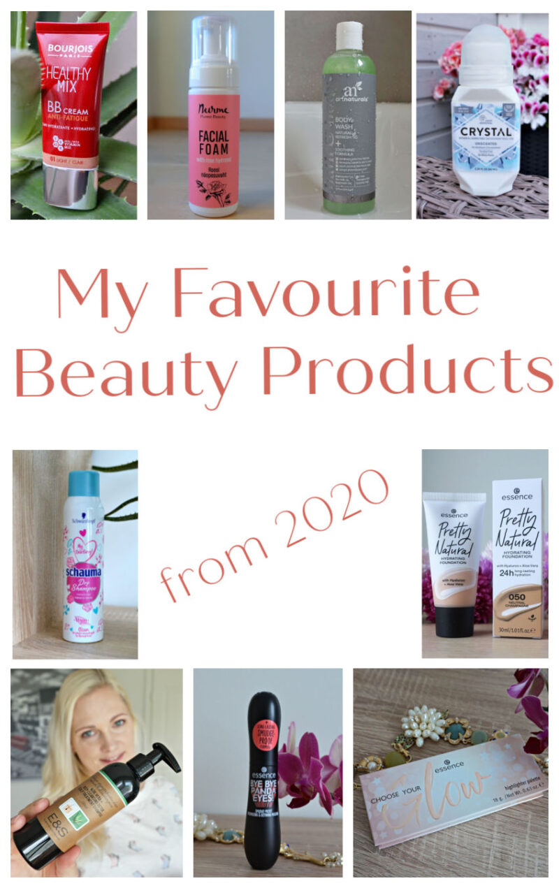 My favourite beauty products from 2020