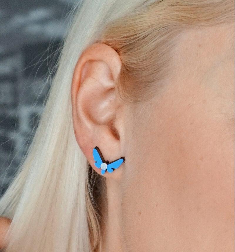 Kuma Butterfly Effect kahtepidi kantavad kõrvarõngad