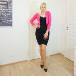 Little Black Dress & Pink Jacket and weekly link-up #210