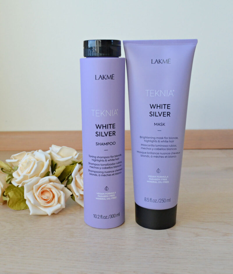 Lakmé TEKNIA White Silver šampoon & juuksemask blondidele juustele