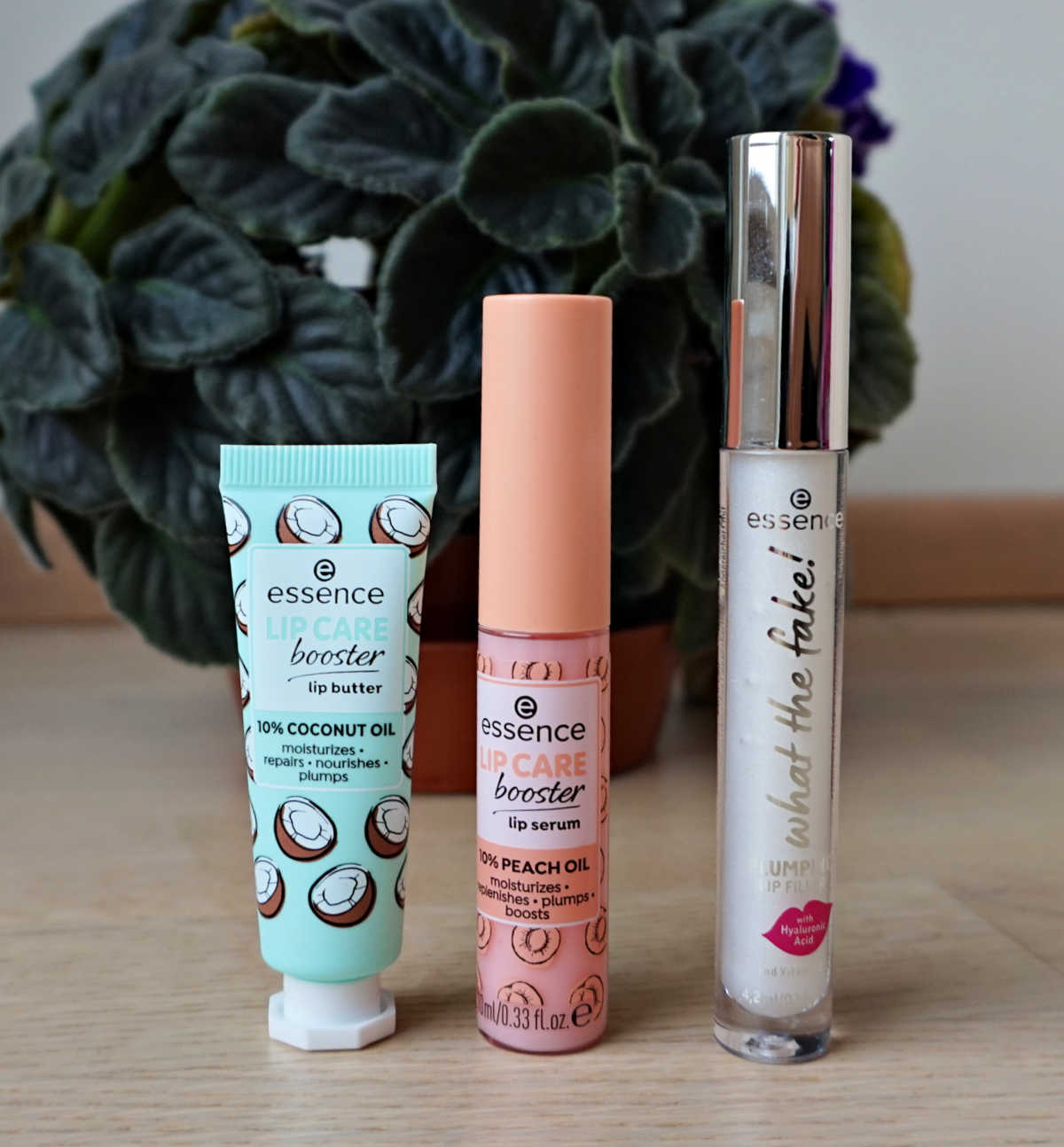 Essence Lip Care Booster Lip Butter and Lip Serum. Essence What The Fake Plumping Lip Filler