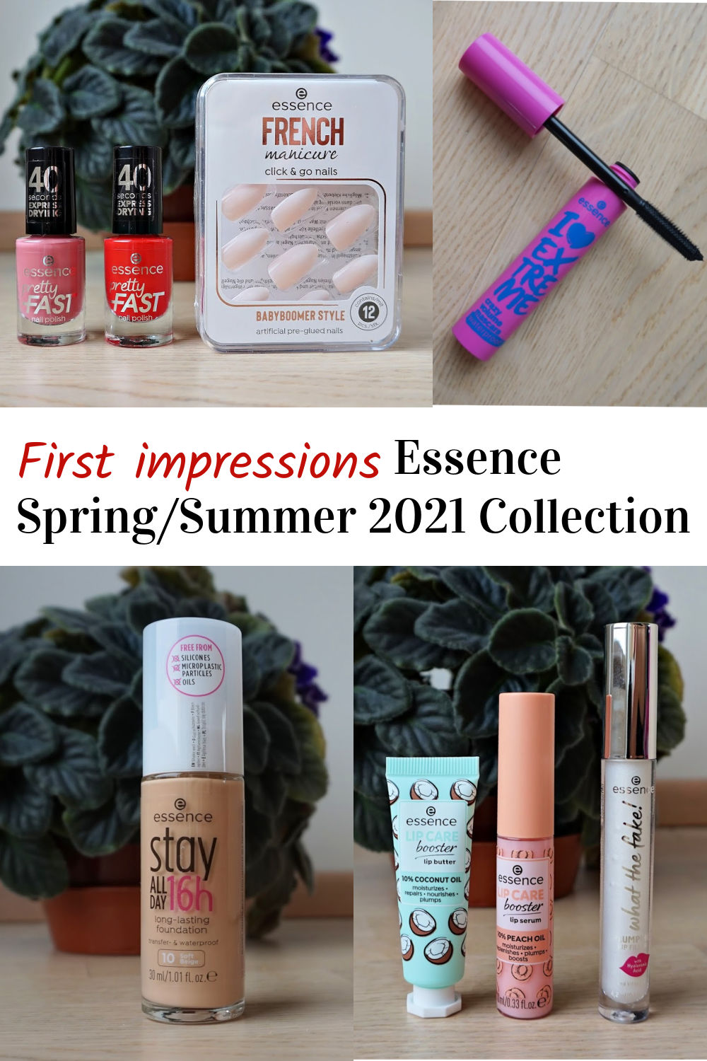 first impressions Essence Spring/summer 2021 collection