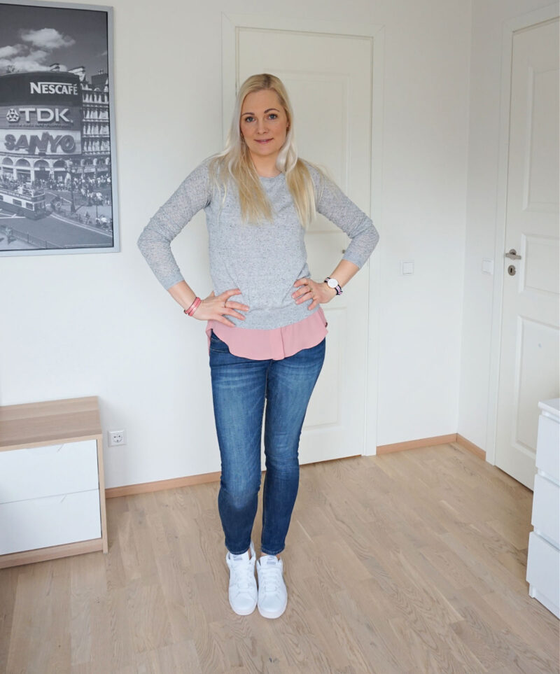 Simple casual spring outfit