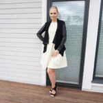 Pale Pastel Yellow and Black OOTD & weekly link-up #224