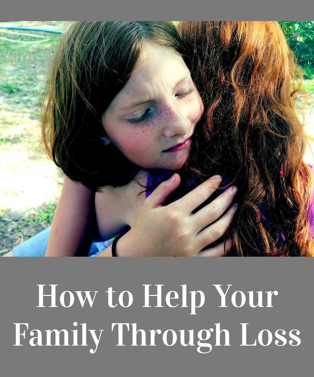 Tips on how to help your family Through loss