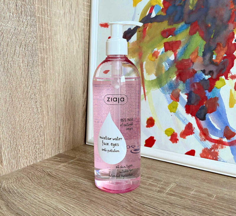 Ziaja Micellar Water For Face And Eyes - Anti Pollution