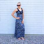 Monsoon maxi dress& weekly link-up #231