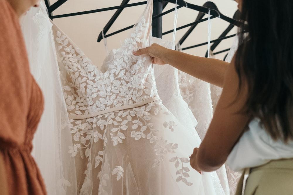shopping for wedding dress